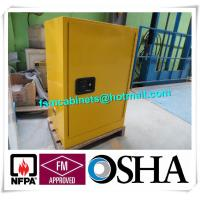 China Storage Flammable Safety Cabinets For Liquid , Industry Paint Safety Storage Cabinets wholesale