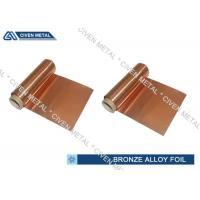 ISO Standard Phosphor Bronze Foil / Alloy Foils with protective Surface coatings