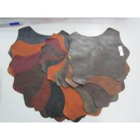 China Tabacco Color Faux Cowhide Upholstery Fabric Upholstery Faux Leather wholesale