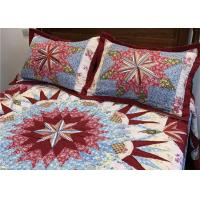 China Wonderful Handmade Twin Size Bedding Sets 4 Pcs 100% Cotton Geometric Design wholesale
