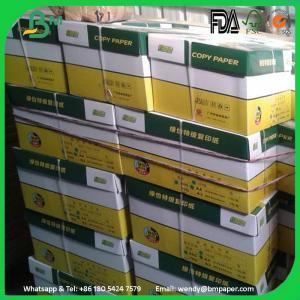 China High Quality GRADE A Super White 70 75 80 GSM A4 Paper Copy Paper wholesale