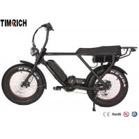 China Mid Drive Electric Battery Powered Bike 48V 15AH Battery Charge Time 4-6 Hours on sale