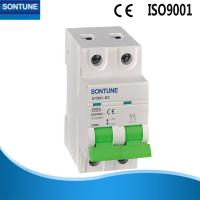 China Miniature STM1-63 2p MCB Circuit Breaker With Double Wiring 6ka Ce Semko on sale