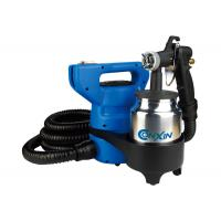 China 20 Foot 800Ml Metal HVLP Spray Guns 650W 110V 230V Fast Easy Operate Paint Flat Walls wholesale