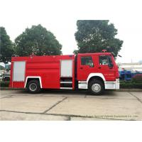 China Security Fire Fighting Truck With 5900 LWater tank and 2000 Liters Foam Tank on sale