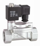"""China Pilot Operated Stainless Steel Solenoid Valve Two Way Normally Closed 3/8"""" ~ 3"""" wholesale"""