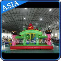 Buy cheap Inflatable Angry Bird Bouncer Slide Palyground / Inflatable Angry Bird Jumping Bouner Castle Combo from wholesalers