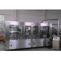 China Touch Screen Control Carbonated Drink Filling Machine / Processing Equipment wholesale