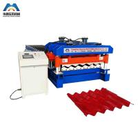 China Custom 13 - 22 Forming Station Metal Roof Tile Roll Forming Machine For Color Steel Tile wholesale