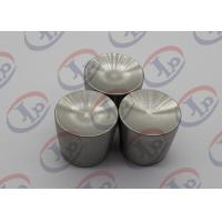 China 316 Stainless Steel Nuts Custom Machined Parts with M5*0.8mm Internal Thread wholesale