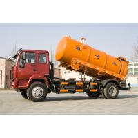 China High Efficiency Sinotruk Sewage Suction Truck For  Industrial Washing Operations wholesale