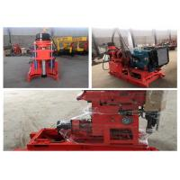 China Easy Operate Water Well Drilling Tools Portable Drilling Rig 100m To 200m Depth on sale