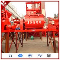 China Weightless Double Twin Horizontal Shaft Paddle Compulsive Foam Concrete Mixer Lightweight Ready Mix Js500 Mixing Machine on sale
