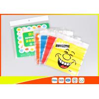 China Stand Up Biscuit Pe Plastic Reselable Pouches / Custom Resealable Plastic Bags wholesale