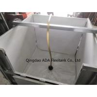 China Hot Sale!! Foldable Steel Iron IBC with capacity from 800 liters to 1200 liters Reusable match with IBC Liner wholesale