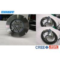 China High Power 24w / 72w LED Pond Lights With 316 Stainless Steel Casing wholesale