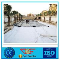 China Landfill Smooth Surface HDPE Geomembrane Pond Liner 0.2 - 2.5mm Thickness wholesale
