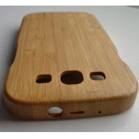 China Bamboo Hard Shell Case For Galaxy S3 / i9300 With Straight Grain on sale