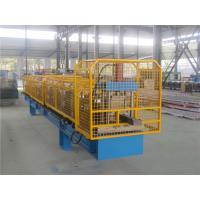 China Protective Net Enclosures Gutter Roll Forming Machine High Speed Single Chain wholesale