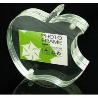 China Apple Shape Clear Acrylic Crafts With Reasonable Price wholesale