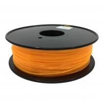 China Fluorescent Orange HIPS 3d Printer Filament 1.75mm For Makerbot No Odor wholesale