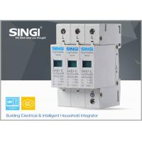 China IEC Standards Lightning surge protector SPD , transient voltage surge suppressor TVSS wholesale