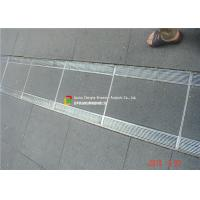 China 316 / 304 Stainless Steel Bar Grating High Bearing For Trench Cover wholesale