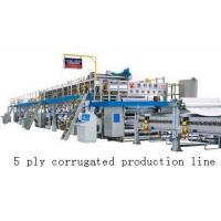 China High Speed Corrugated Cardboard Production Line With 1 Year Warranty on sale