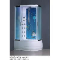 China Safety Complete Shower Cabins Left / Right ABS Complete Shower Room With Tray wholesale