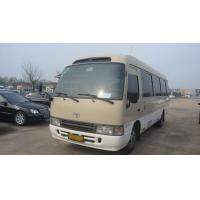 China 20 Passengers Toyota Coaster Second Hand 2013 Year With Strong Engine wholesale