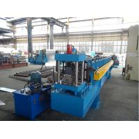 China Cold Roll C Purlin Forming Machine for upright structure with 2 holes wholesale