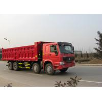 30CBM Heavy Dump Truck For Construction 8x4 Driving Type WD615.47 Engine
