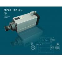 Hqd 6 Kw Square Air Cooling High Speed Spindle Motor For