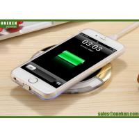 China QI Mobile Phone Wireless Charging Mini Power Bank 93g Single Coil 5V / 2A wholesale