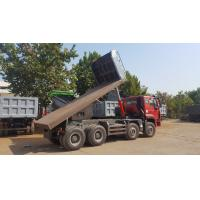 China 8×4 Heavy Duty Dump Truck / Sinotruk Howo Dump Truck For Flatbed And Hyva Lifting wholesale
