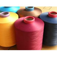 China POLYESTER YARN DTY FDY POY DOPE DYED BLACK AND COLORS on sale
