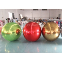 China Large PVC Inflatable Reflective Ball Inflatable Sphere Mirror Balloon For Party Event wholesale