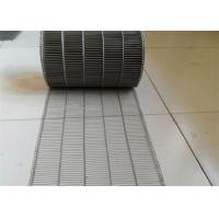 Quality Customized Flat Wire Mesh Conveyor Belt Running Smoothly And Free Samples for sale