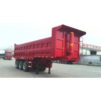 China 40T-100T 2 Axles or 3 axles heavy load dump tipping semi trailer truck ,  dump tractor trailer wholesale