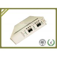 China Two SFP + Ports Optical Media Converter Support In - Band Management wholesale