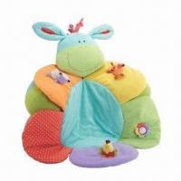 Quality ELC Blossom Farm Sit Me Up/Cosy Baby Seat/Play Mat/Nest with Covered Inflatable for sale