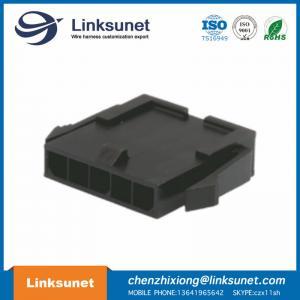 China Black Male Female Wire Connectors 43640 - 0500 MOLEX Crimp Connector Housing wholesale