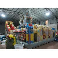 China Big giant inflatable robot fun citty robot inflatable amusement park for children commercial inflatable fun city wholesale