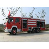 China Compact Structure Emergency Fire Engine Vehicles / Firefighter Trucks wholesale