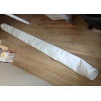 China Cement Plant Filter Cloth Bag Polyester PTFE Coated Industrial 130 - 150 Degree wholesale