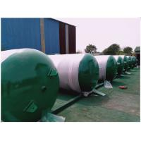 China Horizontal Sandblasting Galvanized Steel Water Storage Tanks 300 Litre - 3000 Litre wholesale
