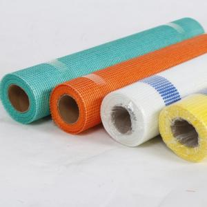 China Different colors fiberglass self - adhesive mesh used for construction material on the wall wholesale