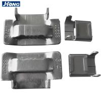 China Eco Friendly Stainless Steel Banding Buckles Use With Metal Strap Antirust wholesale
