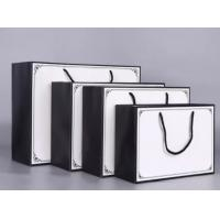China Customized Size Luxury Carrier Bags , Eco Friendly Gift Bags Offset Printing on sale