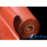China High Strength Soft Silicone Fiberglass Fabric For Fire Doors on sale